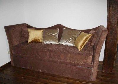 Sofá a medida chester marrón